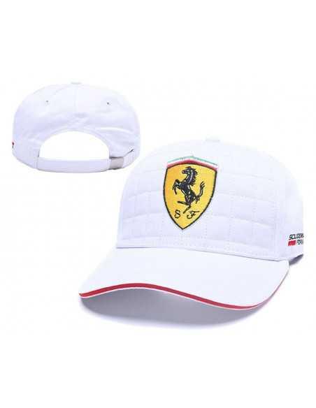 """Кепка бейсболка \\""""White Ferrari\\"""""""