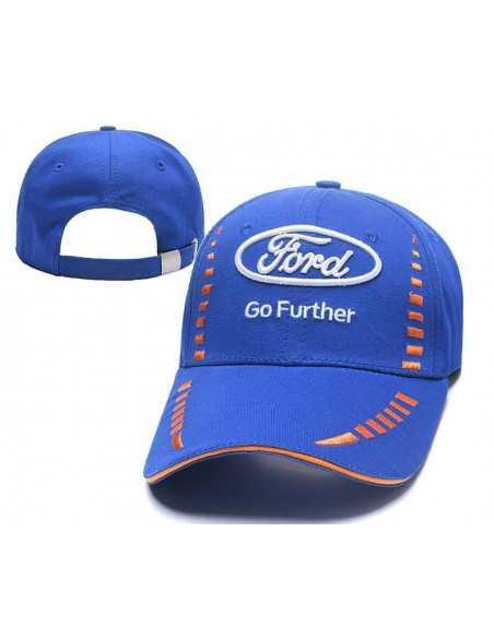 """Кепка бейсболка \\""""Ford\\"""" синяя"""