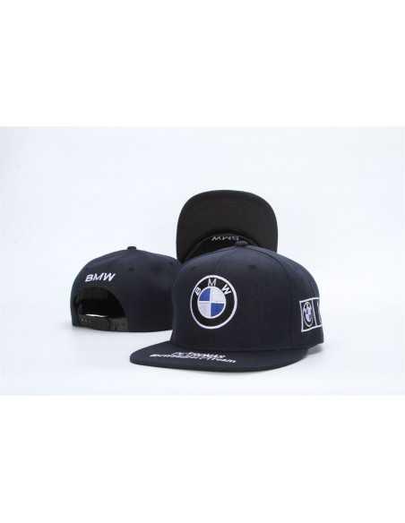 "Кепка рэперка \\""BMW Petronas\\"" чёрная"