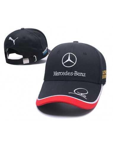"""Кепка бейсболка \\""""Mersedes-Benz от Puma\\"""" чёрная"""
