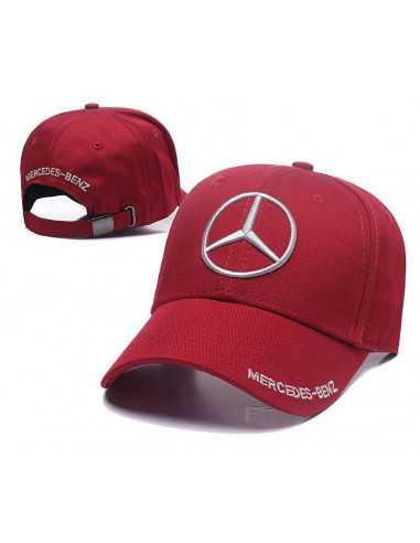 "Кепка бейсболка \\""Mersedes-Benz\\"" красная"