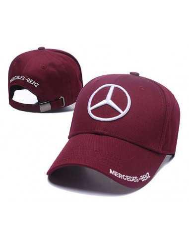 "Кепка бейсболка \\""Mersedes-Benz\\"" бордо"