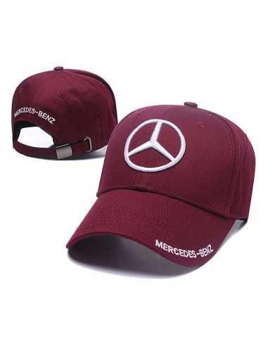 "Кепка бейсболка ""Mersedes-Benz"" бордо"