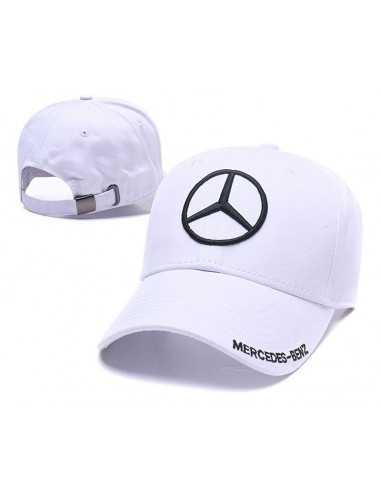 "Кепка бейсболка ""Mersedes-Benz"" белая"