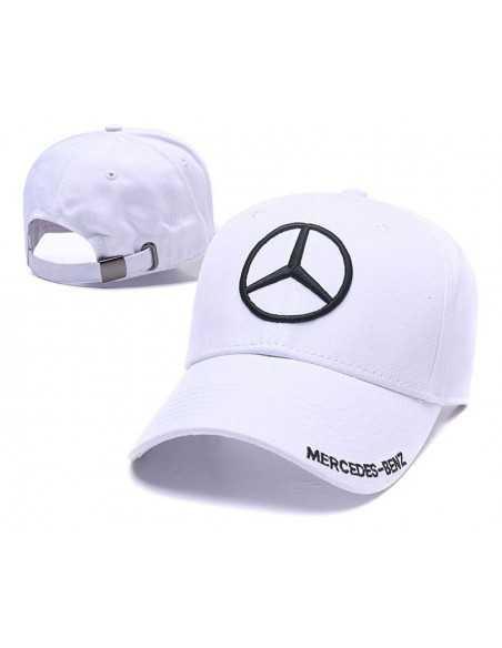 "Кепка бейсболка \\""Mersedes-Benz\\"" белая"