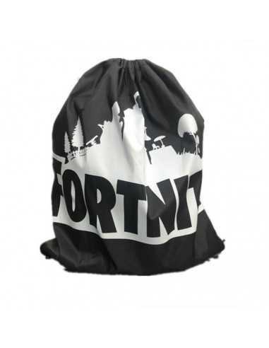 """Рюкзак легкий """"Fortnite"""" чёрный для сменной обуви и одежды"""