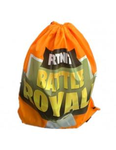 """Рюкзак легкий \\""""Fortnite\\"""" жёлтый для сменной обуви и одежды"""