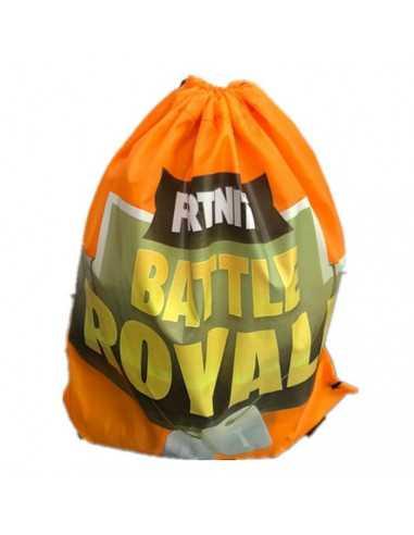 """Рюкзак легкий """"Fortnite"""" жёлтый для сменной обуви и одежды"""