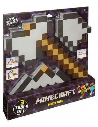 Железная кирка - топор - лопата трансформер 3 в 1 Minecraft