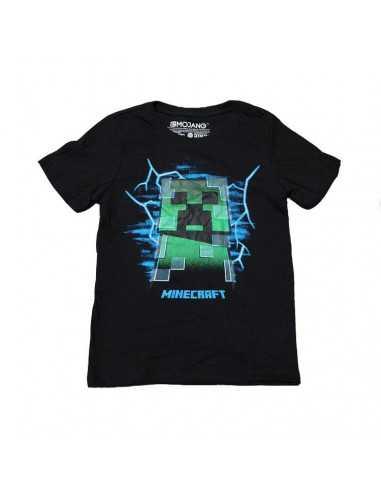 Футболка Minecraft Крипер чёрная Оригинал