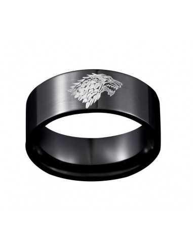 """Кольцо Game of Thrones """"Игра Престолов"""" чёрное"""