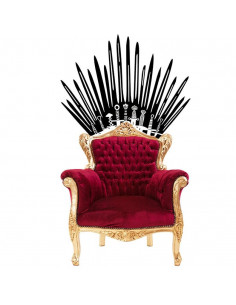 "Настенная наклейка Game of Thrones ""Железный Трон"""