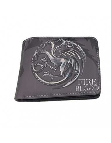 "Кошелёк Game of Thrones ""Fire and Blood"" чёрный"