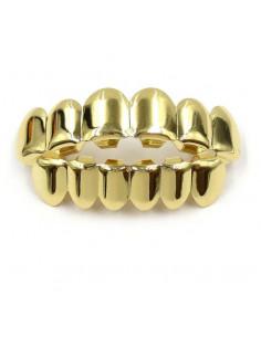 Брекеты грилзы золото
