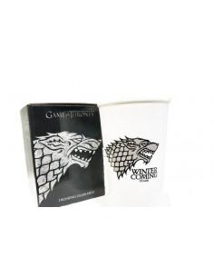 """Керамическая чашка Game of Thrones \\""""Winter is coming\\"""" белая"""