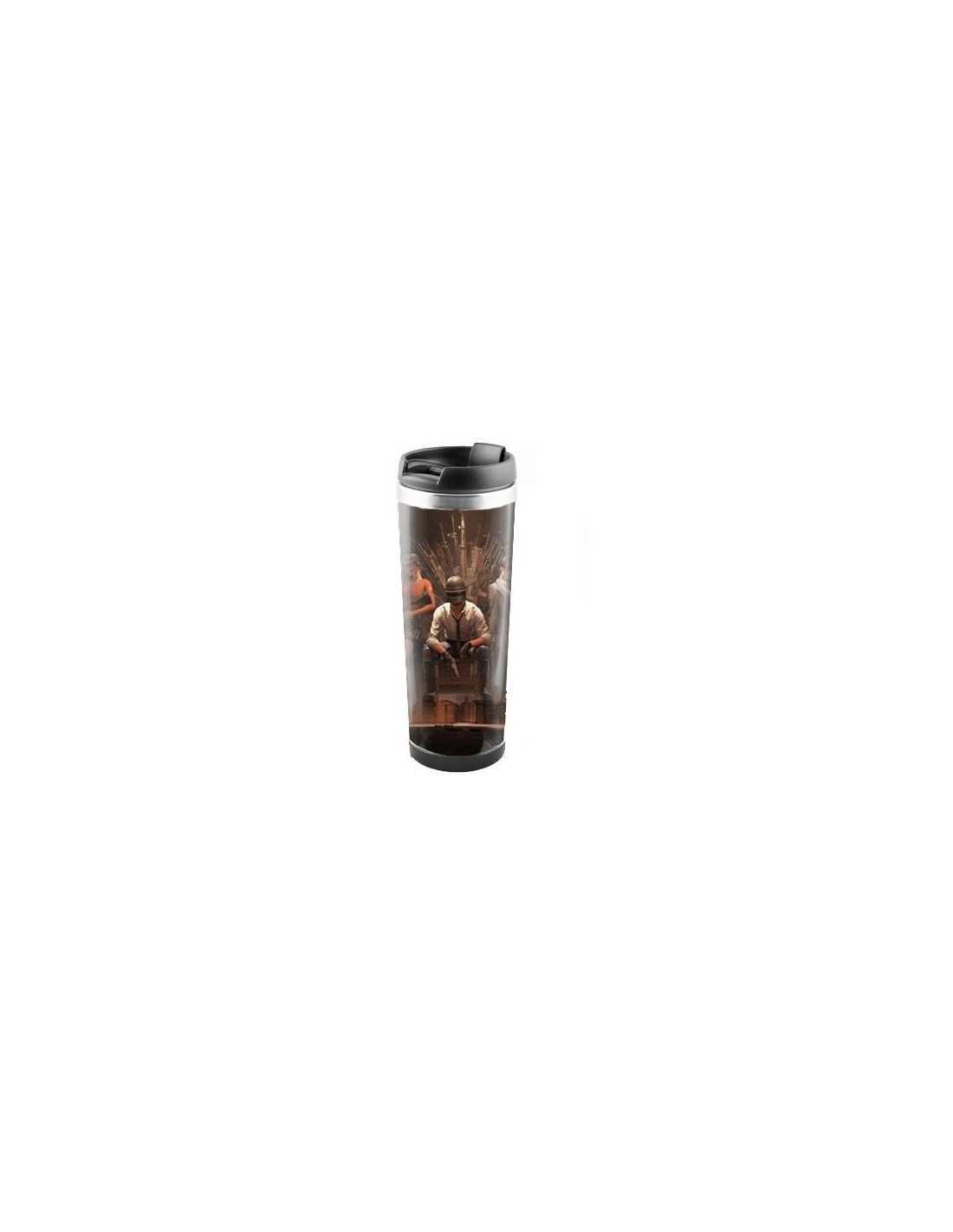Термокружка для напитков PUBG 450 мл нержавеюшая сталь