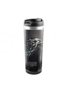 """Термокружка для напитков Game of Trones """"Дом Старков"""" 450 мл нержавеюшая сталь"""