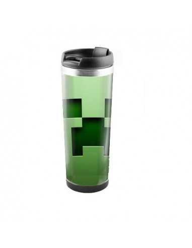 """Терморужка для напитков Minecraft """"Creeper"""" 450 мл"""
