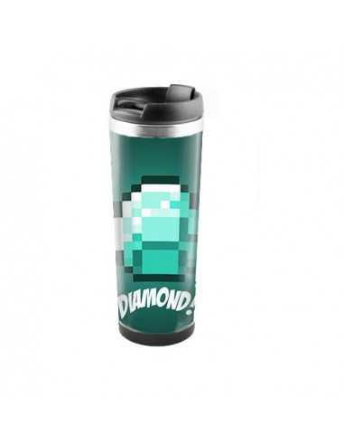 "Терморужка для напитков Minecraft ""Diamond""450 мл"