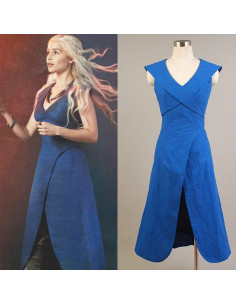 Голубое платье Дейнерис