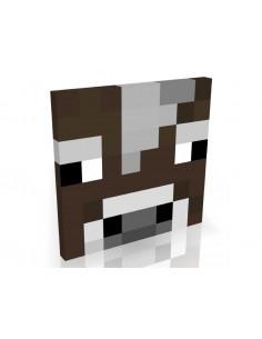 Картина MineCraft Корова 30x30 см