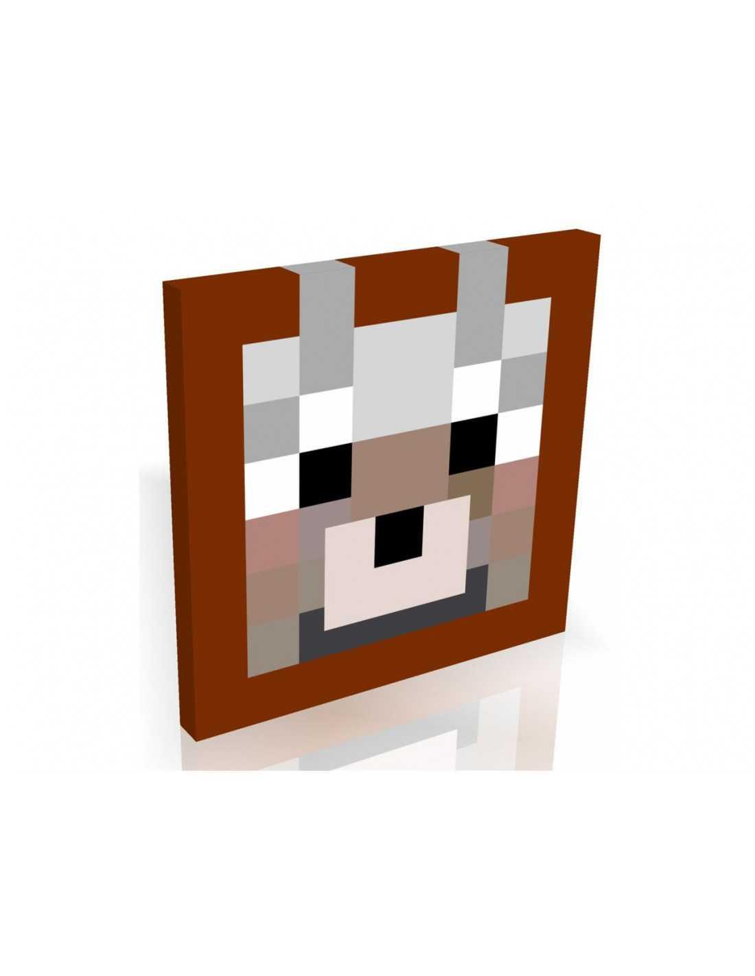 Картина MineCraft Волк