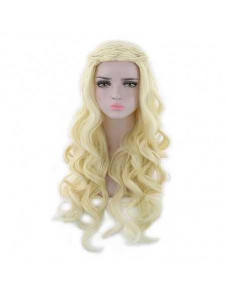 Парик Daenerys Targaryen золотистая блондинка
