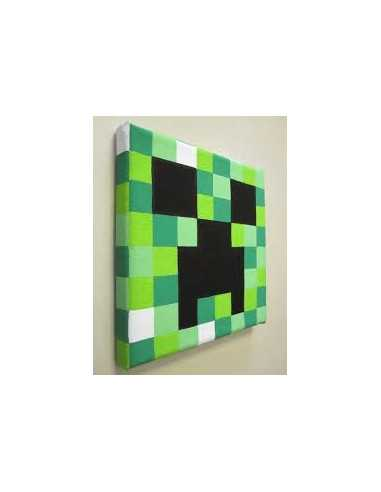 Картина Майнкрафт Крипер (MineCraft Creeper) 30х30