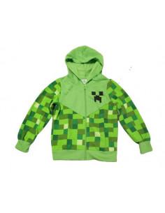 Толстовка Minecraft Creeper зеленая Оригинал