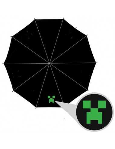 Зонт Minecraft Крипер автомат черный