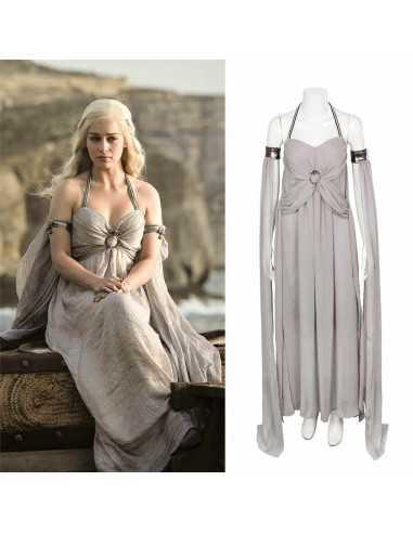 Белое платье Дайнерис
