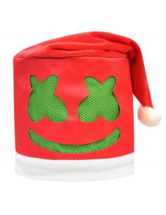 Шапка-колпак Marshmello Happy New Year с иллюминацией