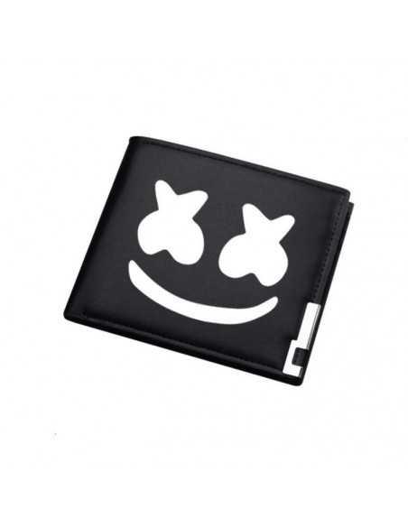 Бумажник Marshmello черный