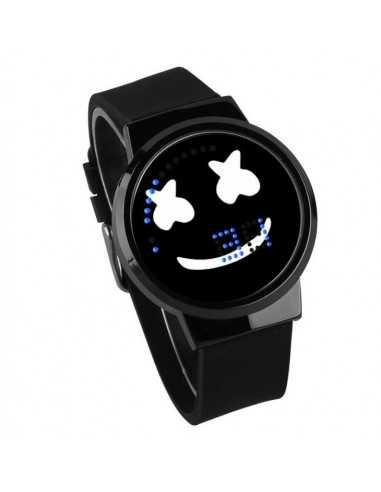 Часы LED Marshmello черные