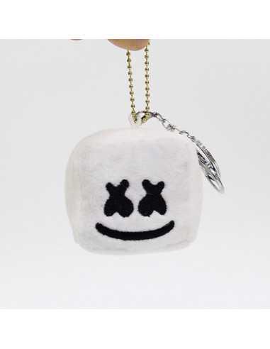 Мягкая игрушка-побрякушка Marshmello