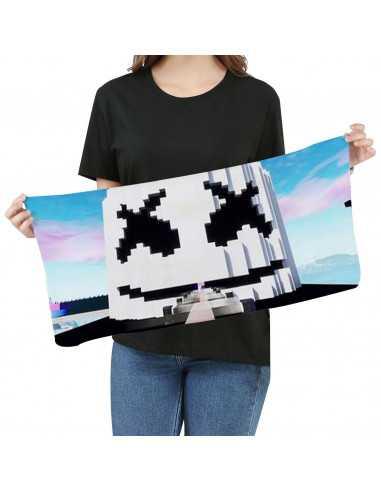 Полотенце Marshmello пиксельное