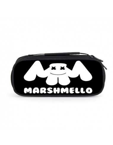 Пенал Marshmello вместительный черный