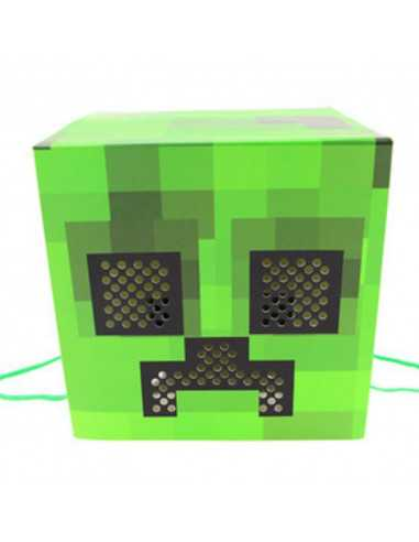 Подарочный пакет маска Minecraft Creeper
