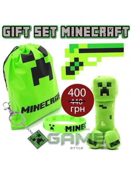 Подарочный набор Minecraft Creeper Gift Set