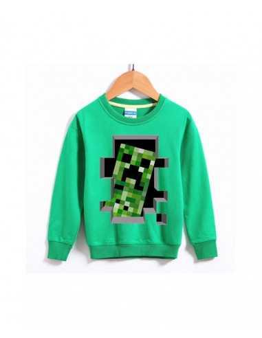 Реглан Minecraft зеленый