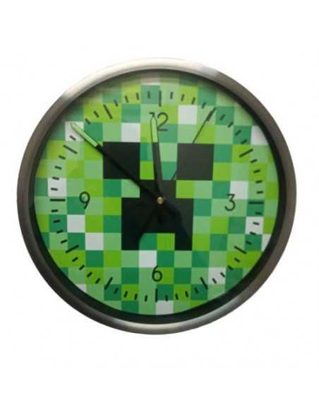 Часы настенные Minecraft Creeper