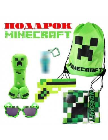 Новогодний подарочный набор Minecraft
