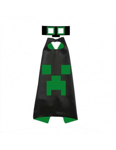 Карнавальный костюм Creeper Minecraft черный
