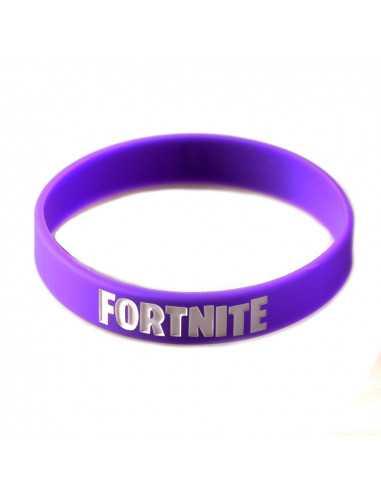 Силиконовый браслет Fortnite фиолетовый