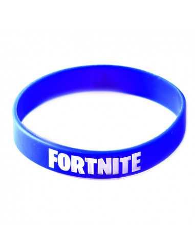 Силиконовый браслет Fortnite синий