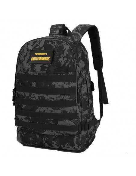 Рюкзак городской тактический Battlegrounds PUBG темно-серый камуфляж