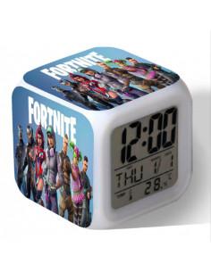 Часы будильник LED Fortnite Герои