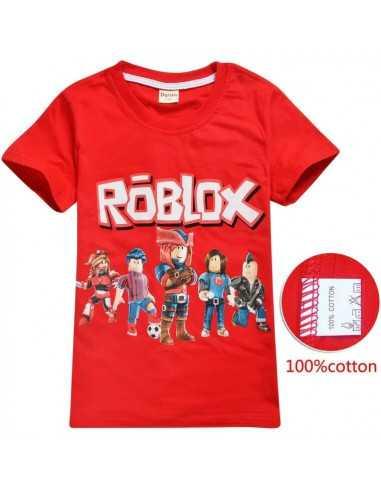 Футболка детская Roblox красная