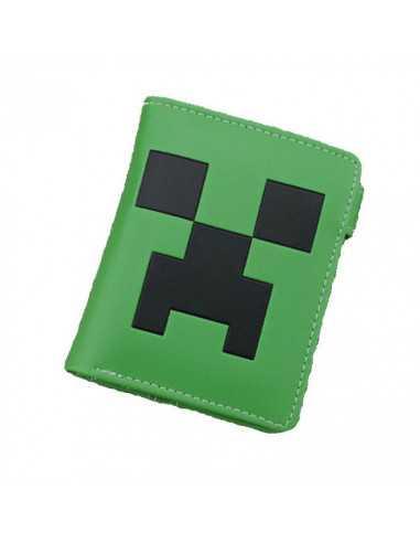 Кошелек Зеленый Крипер из майнкрафт