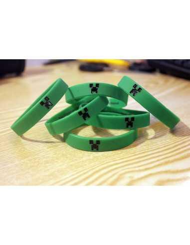 Силиконовый браслет Майнкрафт (MineCraft)
